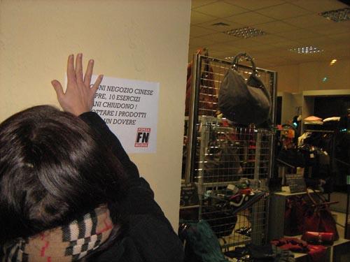 Forza nuova boicotta i negozi cinesi padova24ore for Negozi arredamento padova