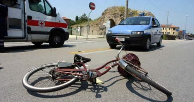 incidente bici padova