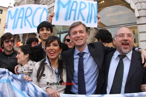marco marin candidato sindaco pdl
