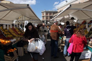 Mercato piazza erbe padova