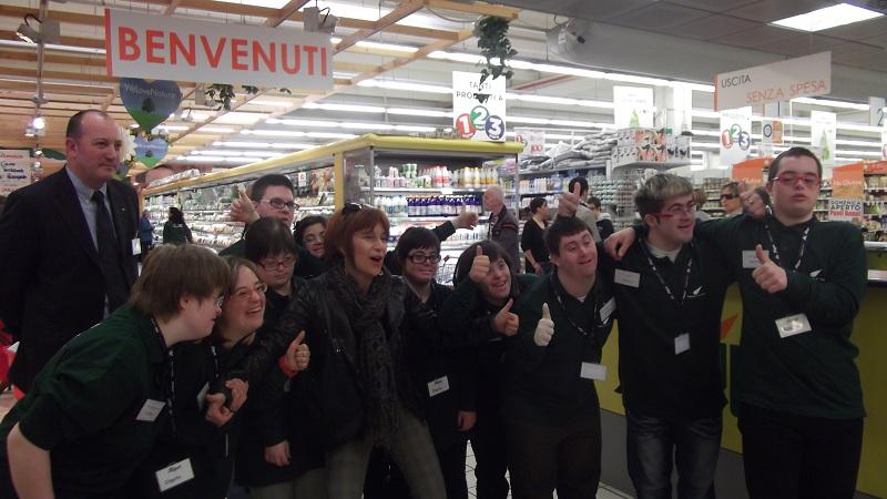 down padova supermercato alì