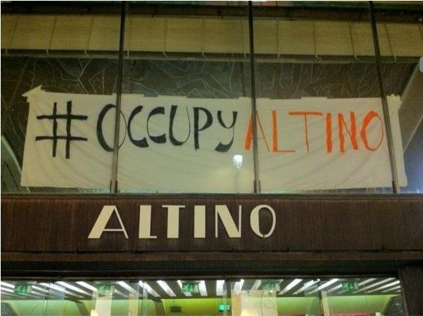 occupy altino padova