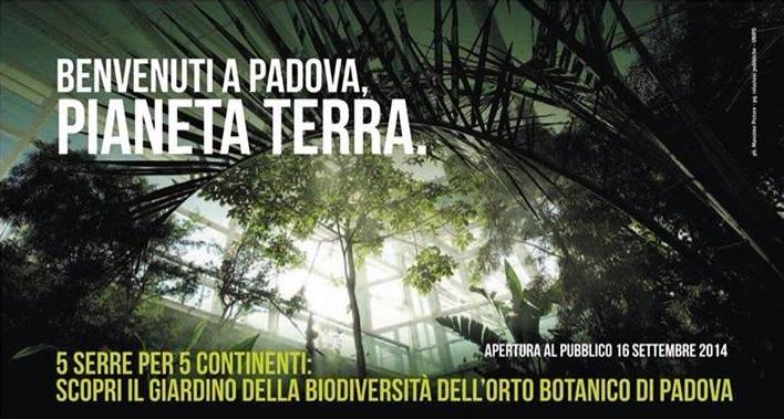 Il giardino delle naiadi orto botanico di padova le nuove serre