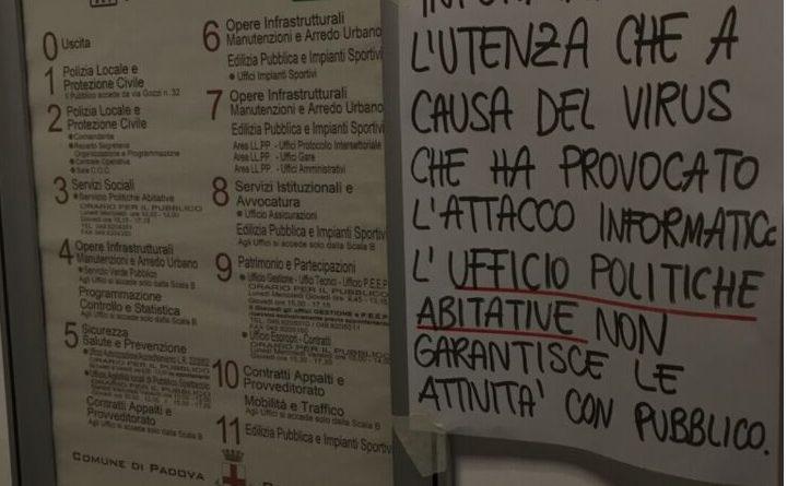 Ufficio Arredo Urbano Padova : Cronaca archivi pagina di padova ore