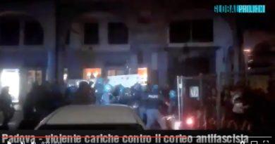 Attivisti dei centri sociali Pedro e Morion a palazzo Moroni: Coalizione civica critica il questore mentre Lorenzoni (con Giordani) richiamano alla legalità
