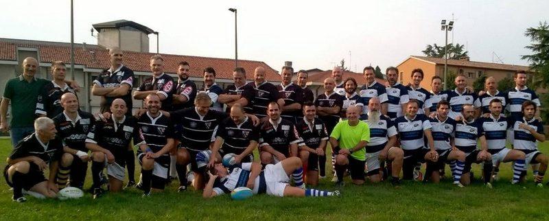 """Rugby amatoriale: l'Excelsior batte i """"Petrarchi"""". Prima meta di Massimo Bitonci"""