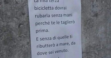 """Quel cartello che fa orrore. Perchè tutto questo odio? Cosa sta succedendo alla """"mia"""" Padova?"""