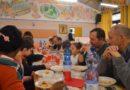 Il pranzo della comunità a San Carlo, peccato non ci fossero quelli che sparano sempre a zero sull'Arcella