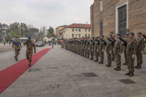 Il Generale Errico ha incontrato gli uomini e le donne delle Forze Operative del nord Italia, del Comando Truppe Alpine e delle Forze Operative Terrestri di Supporto