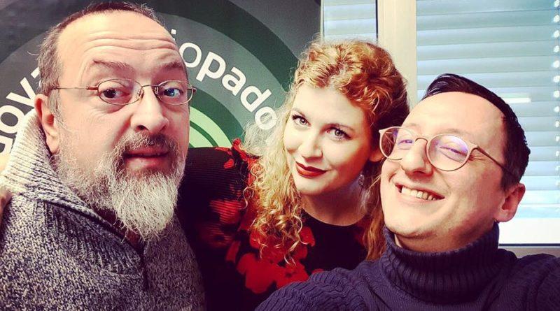 """Mary G. blogger padovana da Radio Padova ad ospite (con bis) a """"La Vita in Diretta"""" di Rai Uno"""