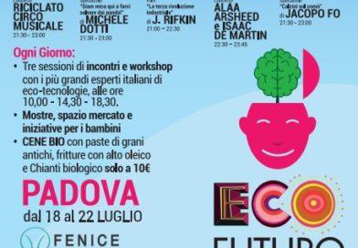 Il Consorzio Italiano Biogas al Festival delle ecotecnologie  a Padova dal 18 al 22 luglio