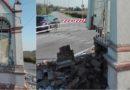Semidemolito dall'incidente tra due auto: addio al capitello di Cadoneghe