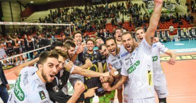 Pallavolo A1: la Kioene non si ferma più e schianta anche Siena. Tre punti d'oro che fanno morale