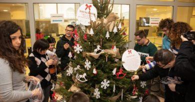 """Più che un Albero di Natale:  all'Università il """"regalo"""" dell'Atelier artistico Down Dadi"""