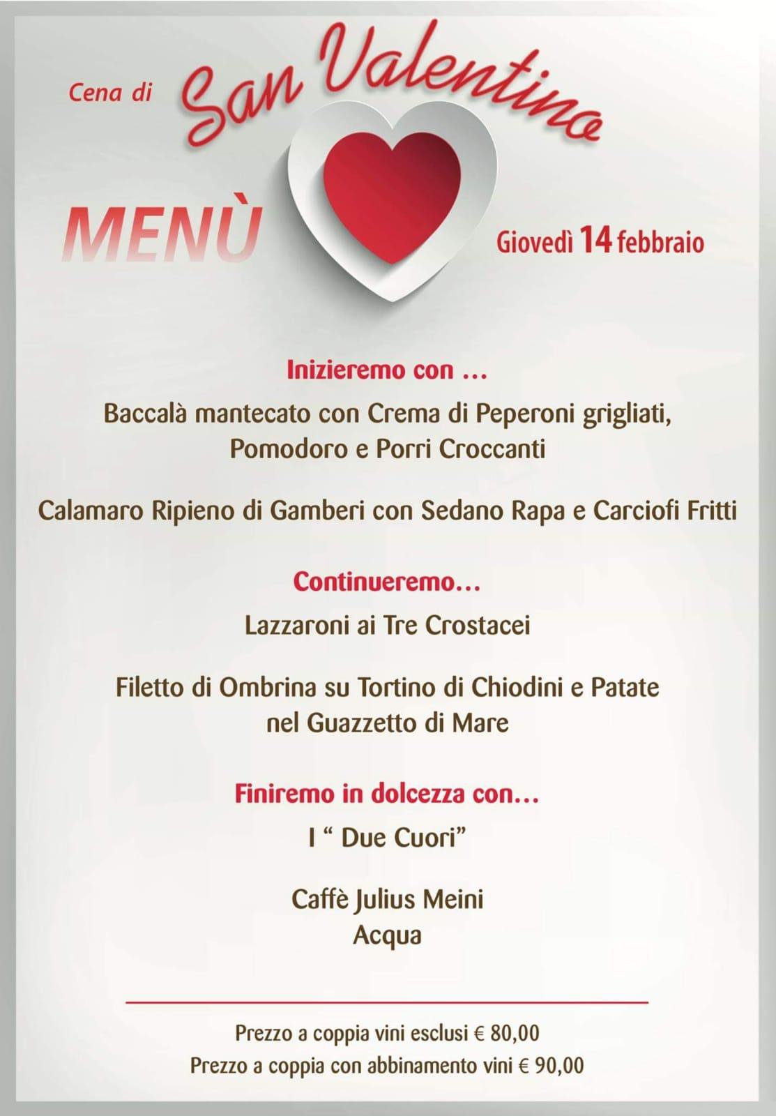 La Cena Di San Valentino Al Ristorante Lucas Di Trebaseleghe