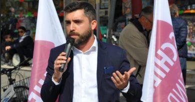 Marco Schiesaro, 32 anni, candidato sindaco a Cadoneghe: intanto presenta il simbolo civico in attesa dei partiti