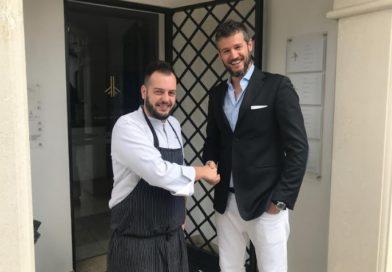 """Andrea Valentinetti premiato da Argos come """"chef più energico"""" de Il Salone dei Sapori"""