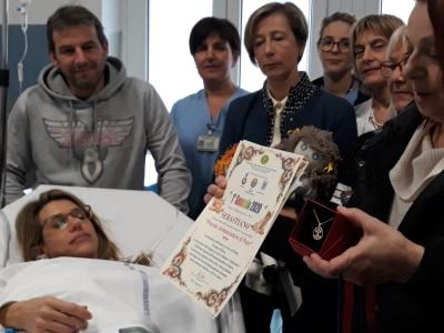 Primo nato a Padova: il gesto di buon augurio della Federazione delle donne per la pace nel mondo WFWP