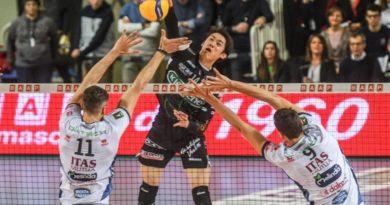 Pallavolo Padova: Lube passeggia alla Kioene Arena