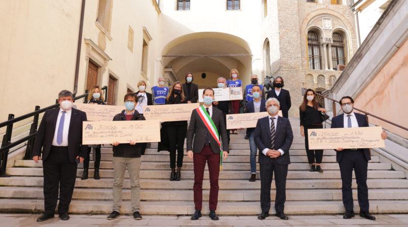 Alì supermercati al fianco della Padova e del Veneto che non si ferma e che produce solidarietà