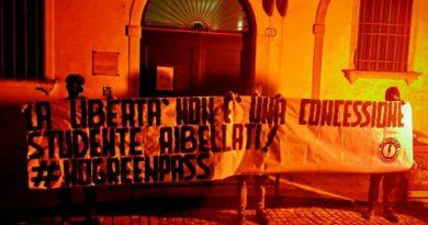 Blocco studentesco e Casa Pound contro il Green Pass all'università di Padova